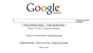 Goolge Search