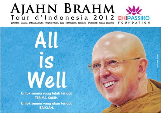 Ajahn Brahm Tour Indonesia 2012