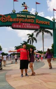 Foto di depan HK Disneyland